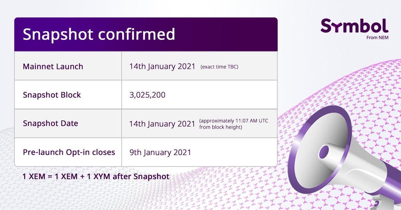 快照确认为2021年1月14日